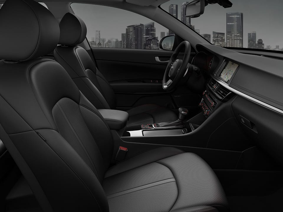 Kia Optima Sportswagon Premium-Materialien